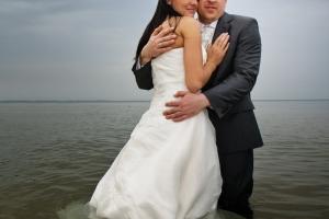 Zdjęcia ślubne na plaży